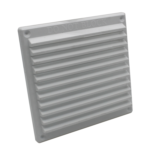 Rytons 6X6 Louvre Ventilation Grille - White