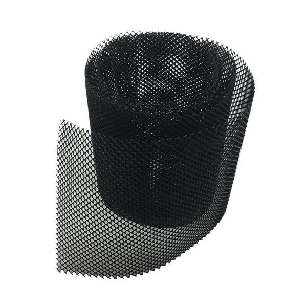Rytons Black Mesh 4mm X 4mm Holes 145mm Wide - Price Per Metre...