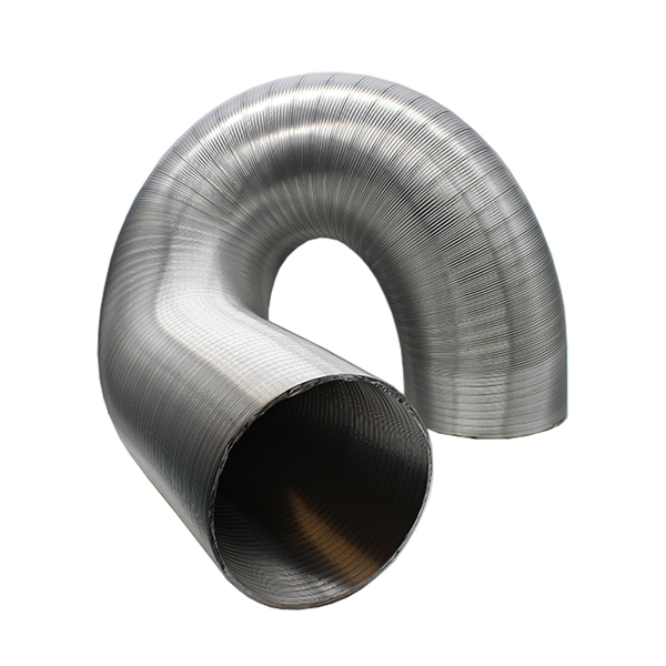 Kair Semi-Rigid Aluminium Hose 102mm Dia - 3 Metre Length
