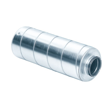 125DIA 300 Length 100mm Ins Silencer Straight Ducting