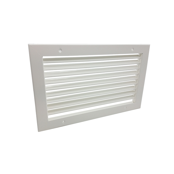 Single Deflection Grille - White - 500X400mm