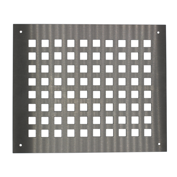 Brushed Stainless Steel Ventilation Grille 300mmX250mm