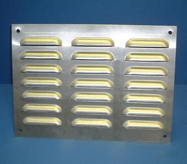 297MM X 213MM VENTILATION GRILLE STAINLESS STEEL