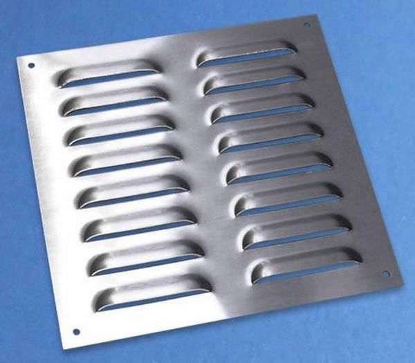 Stainless Steel Air Grille : Stsjsv mm ventilation grille stainless steel