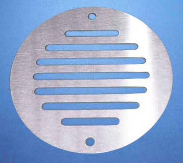 Ø50MM ROUND VENTILATION GRILLE STAINLESS STEEL