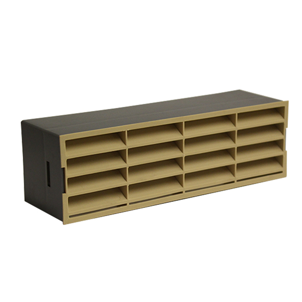 Kair Rectangular 204x60mm Beige Airbrick...