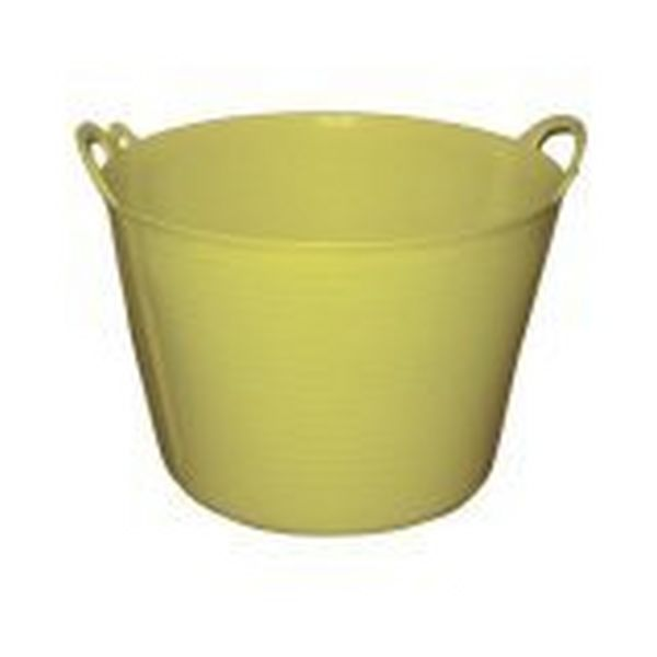 40 LITRE RHINO FLEXI TUB BUCKET - YELLOW