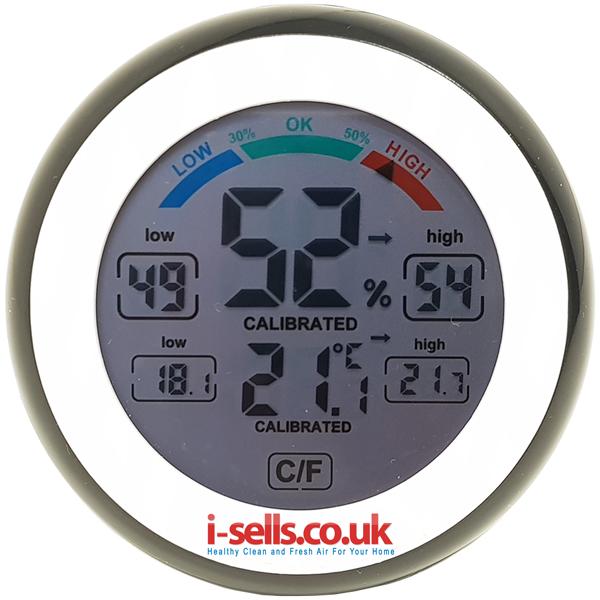 i-sells Digital Hygrometer