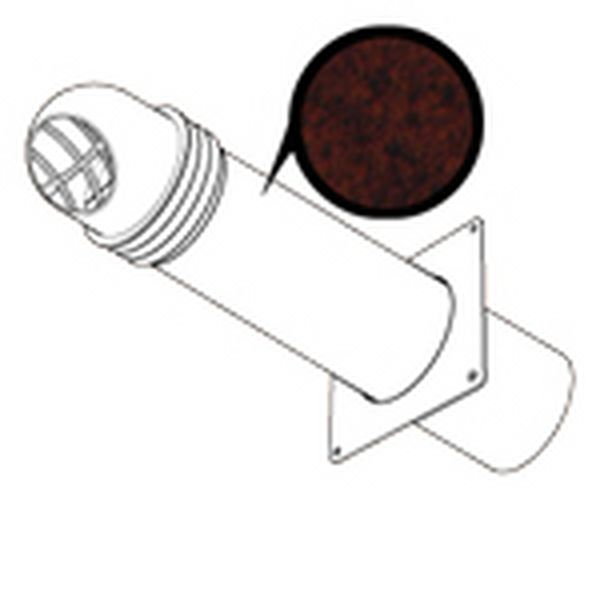 HIGH RISE ROUND COWLED KIT 150MM - BROWN (CUT OUT SIZE 167MM)