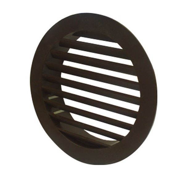 SYSTEM 100 - ROUND GRILL - BROWN WITH FLYSCREEN