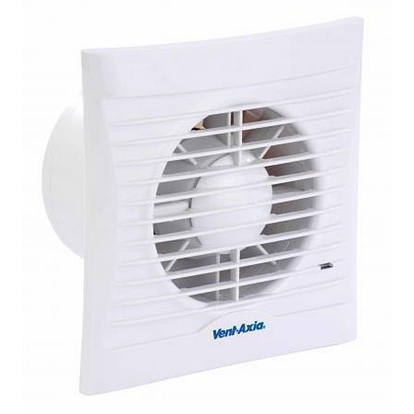 Vent Axia Silhouette 100TM Extractor Fan With Timer And PIR Motion Sensor (454058)