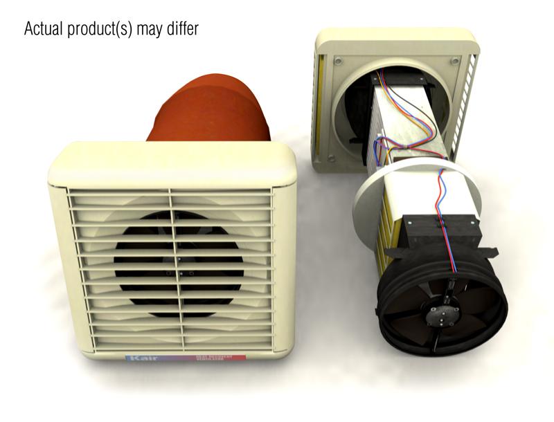 12: Heat Exchanger Extractor Fan Bathroom