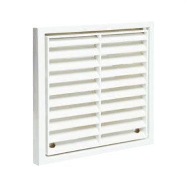 Square Grille 140 X 140 With Spigot - White (52641101)