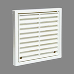 Square Grille 180 X 180 With Spigot - White (52641106)