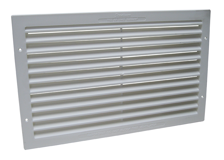 Large Compartment Vent -White- Pairs