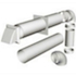 KAIR SYSTEM 150 DUCTING KIT - 3 METRE KIT WITH COWL - WHITE - AND 90 DEGREE BENDS