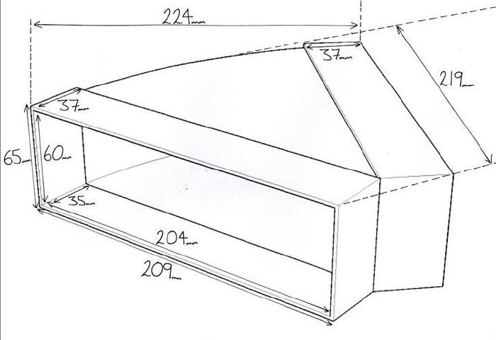 kair system 204 horizontal bend 45 degree