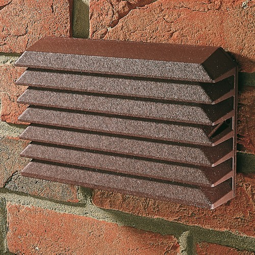 GREENWOOD EXPOSED SITE BAFFLE FOR USE WITH 100MM FANS - TERR