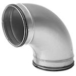 Galvanised Safe Pressed Bend Long - 180mm