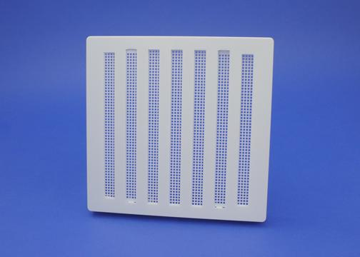 Rytons 7X7 Hit & Miss Ventilation Grille - White Plastic