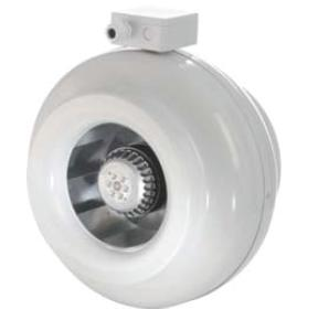 100MM CENTRIFUGAL IN-LINE FAN 290M3/HR