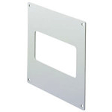 FLAT CHANNEL WALL PLATE