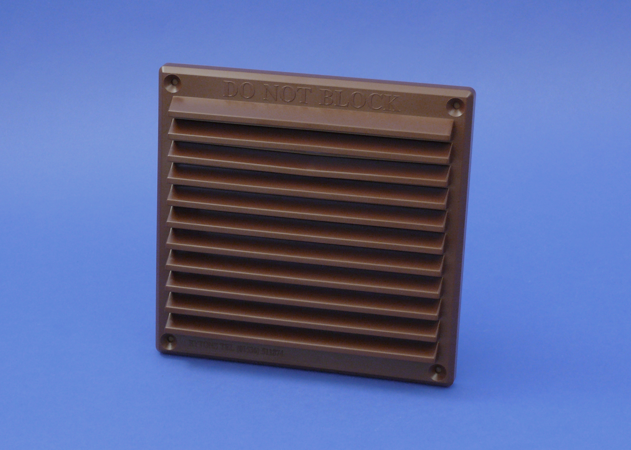RYTONS 6X6 LOUVRE VENTILATION GRILLE - BROWN