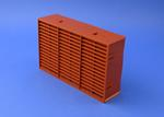 RYTONS 9X6 MULTIFIX AIR BRICK - TERRACOTTA