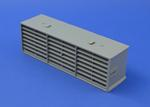 RYTONS 9X3 MULTIFIX AIR BRICK - GREY