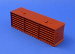 RYTONS 9X3 MULTIFIX AIR BRICK - TERRACOTTA