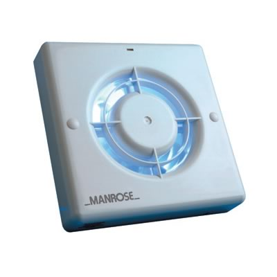Manrose WF100PIR Window Fan - Auto PIR Sensor - 100mm