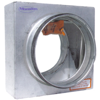 150mm Standard Curtain Fire Damper