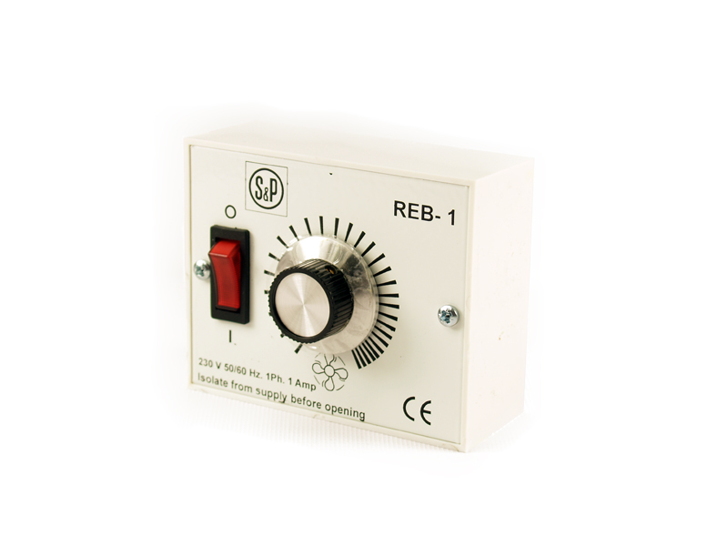 Reb Speed Controller - 1 Amp Single Phase IP42