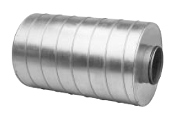 Straight Circular Silencers - 100mm Insulation (SLU-100)