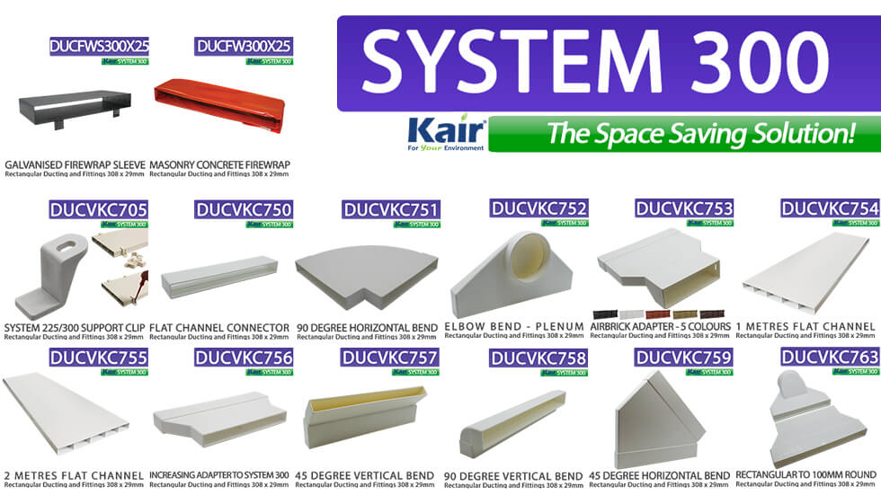 KAIR SYSTEM 300 FITTINGS
