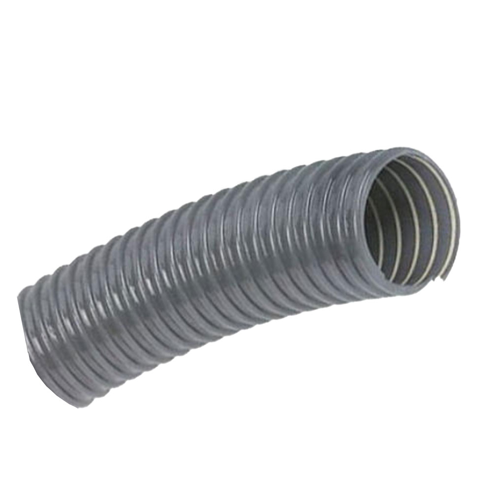 10M Tecflex Vf Dust Extraction Hose Grey - 127mm