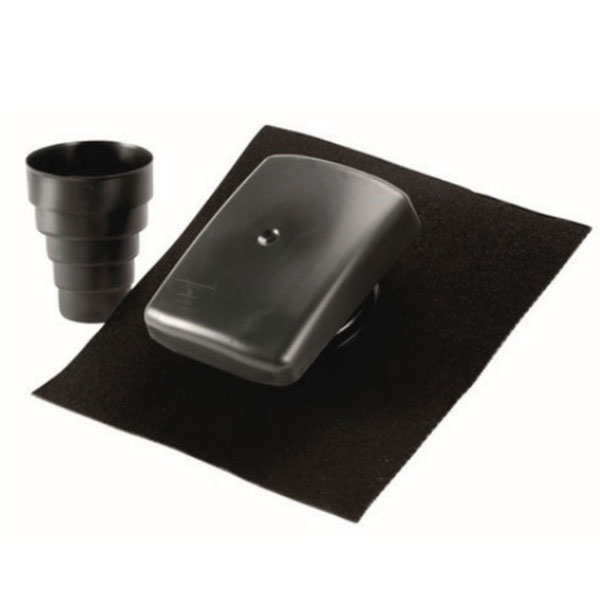 Universal Roof Cowl - Vent For Use With Tiles and Slates
