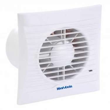 VENT AXIA SILHOUETTE 100SELV SVT FAN - 100MM - WHITE