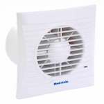 VENT AXIA SILHOUETTE 100SELV SVH FAN - 100MM - WHITE