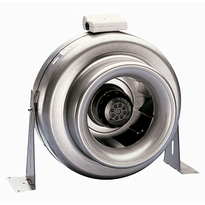 METAL INLINE FAN (�100MM DUCT)