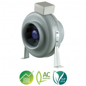 Blauberg CENTRO-M In-line Fan - 150mm