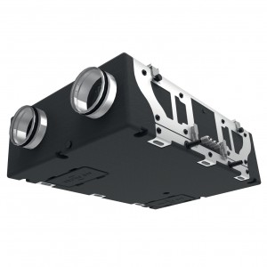 Blauberg Heat Recovery Ventilation Unit - Whole House Vertical MVHR System - EC D5B