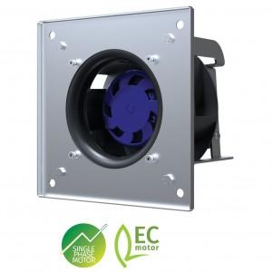 Blauberg GL-B190B-EC-00 EC Zentri-PAC Backward Curved Plug Fan with Casing, 190mm Dia