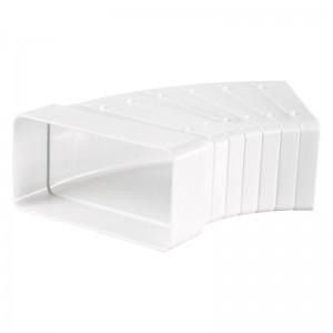204x60mm - Blauberg Flat Plastic Rectangular Ducting Horizontal A...