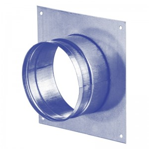Blauberg Metal Spigot Plate - 100mm