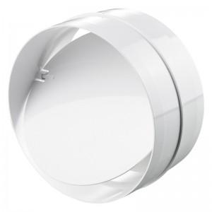 Blauberg Round Circular Inline Ventilation Duct Back Draught Shutter - 100mm 4 Inch