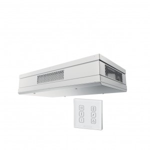 Blauberg Civic EC DB Ceiling Mounted Heat Recovery Unit with Summer Bypass - 300 m3/h...
