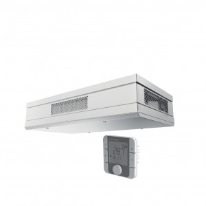 Blauberg Civic EC DB Ceiling Mounted Heat Recovery Unit with Summer Bypass, Pre Heate...