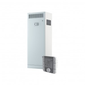 Blauberg Civic EC LB Floor Mounted Heat Recovery Unit with Summer Bypass, Pre Heater ...