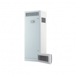 Blauberg Civic EC LB Floor Mounted Heat Recovery Unit with Summer Bypass, Pre and Pos...